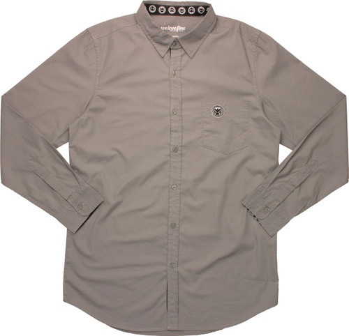SHIELD Pocket Logo MF Long Sleeve Work Shirt