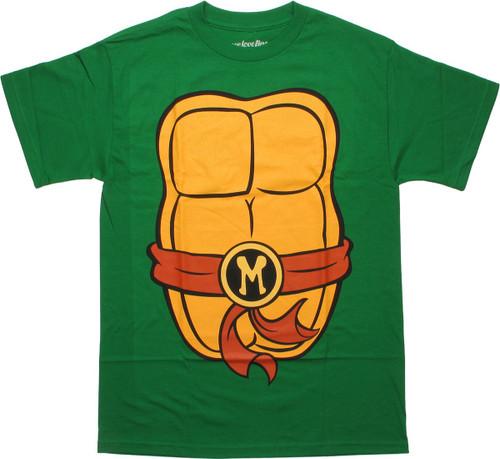 Ninja Turtles Michelangelo Costume Suit T-Shirt