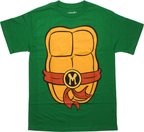 Ninja Turtles Michelangelo Costume Suit T-Shirt