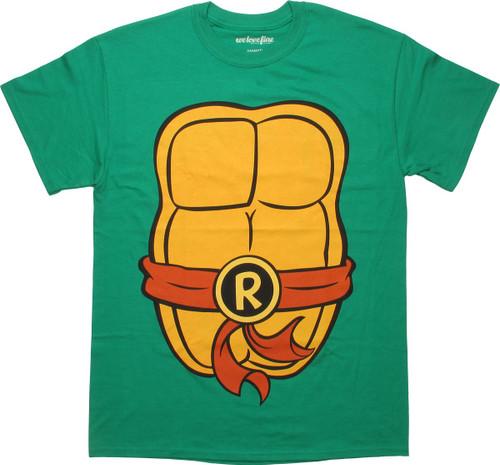 Ninja Turtles Raphael Costume MF T-Shirt