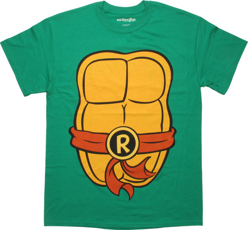 Ninja Turtles Raphael Costume MF T-Shirt