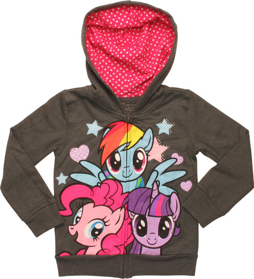 My Little Pony Trio Toddler Hoodie