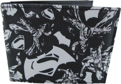 Batman v Superman Collage Bifold Wallet