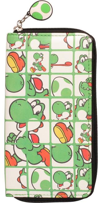 Nintendo Yoshi Grid Clutch Wallet
