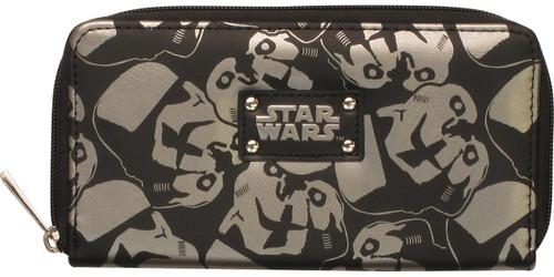 Star Wars Stormtrooper Helmet Clutch Wallet
