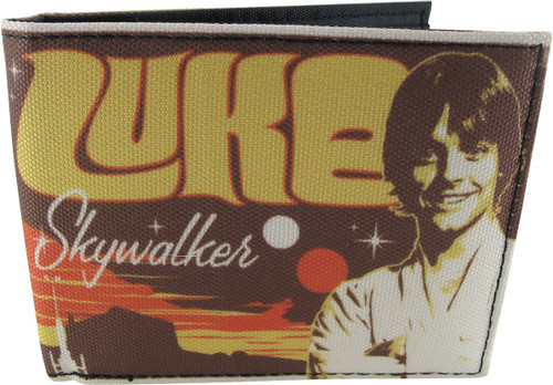 Star Wars Luke Skywalker Anchorhead Bifold Wallet