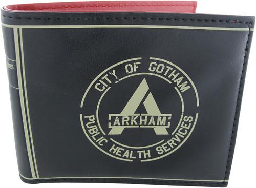 Suicide Squad Arkham City of Gotham Bifold Wallet