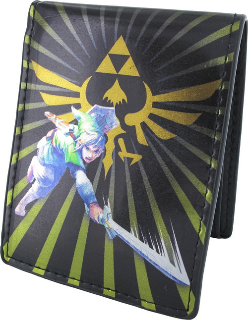Zelda Skyward Sword Logo Link Attack Bifold Wallet