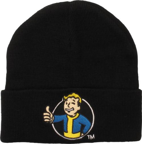 Fallout Logo Cuff Beanie