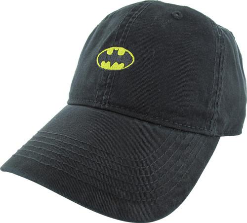 Batman Small Classic Logo Buckle Hat