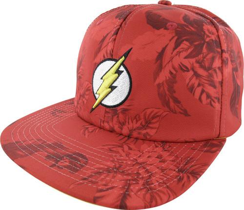 Flash Logo Mono Floral Sublimated Buckle Hat