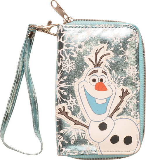 Frozen Olaf Patch Foil Clutch Wallet