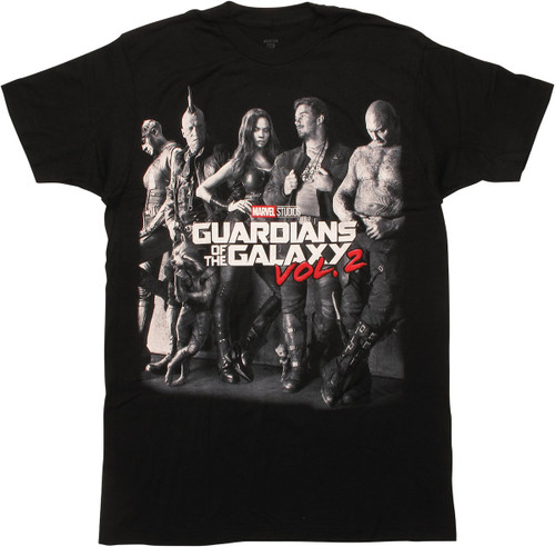 Guardians of the Galaxy Vol 2 Movie Poster T-Shirt