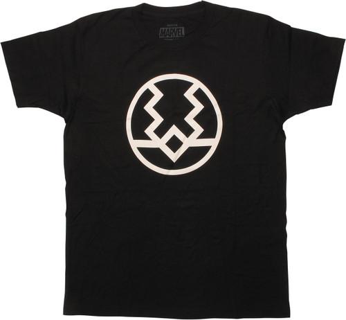 Inhumans Black Bolt Logo T-Shirt