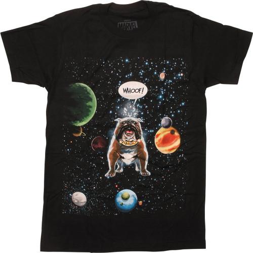 Inhumans Lockjaw Space Woof T-Shirt