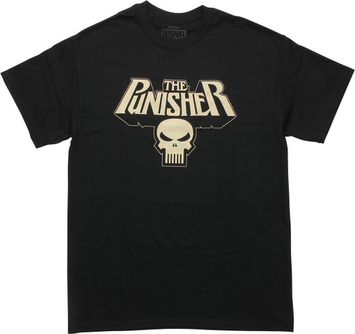 Punisher Glow in the Dark Logo T-Shirt