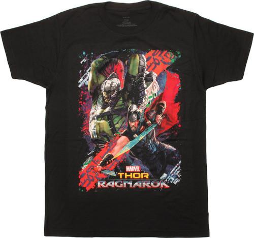 Thor Ragnarok Hulk Battle Cry T-Shirt