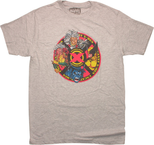 X Men Unite Mutant Circle T-Shirt