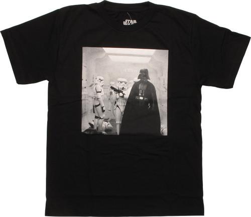 Star Wars Vader Boarded Tantive IV MF Youth Shirt