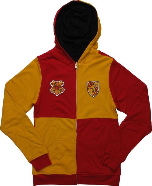 Harry Potter Gryffindor Reversible Junior Hoodie