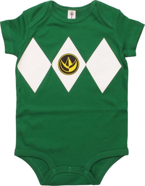 Power Rangers Green Ranger Snap Suit