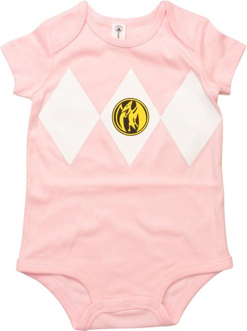 Power Rangers Pink Ranger Snap Suit