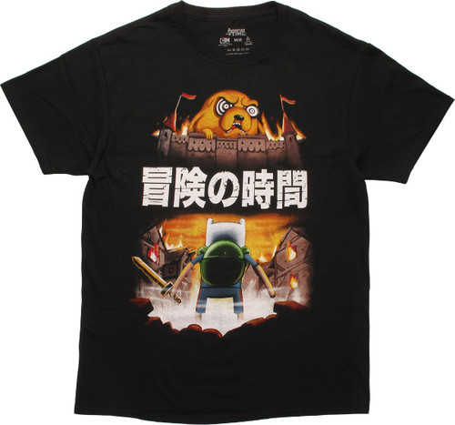 Adventure Time Attack on Village T-Shirt