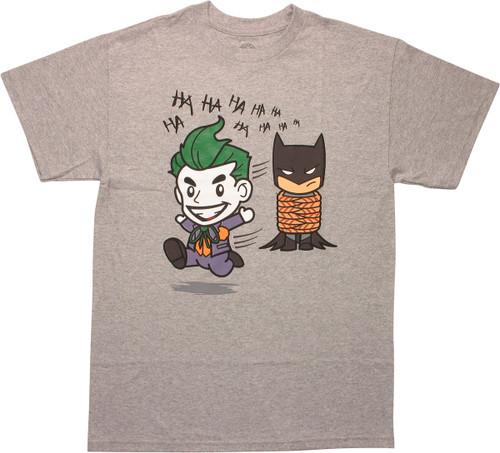 Batman Chibi Joker Running T-Shirt
