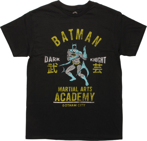 Batman Martial Arts Academy T-Shirt