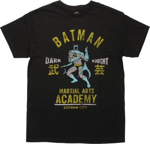 Batman Martial Arts Academy T-Shirt