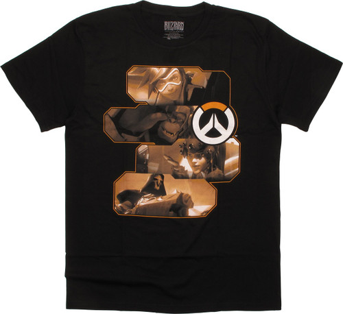 Overwatch Heroes and Assassins T-Shirt