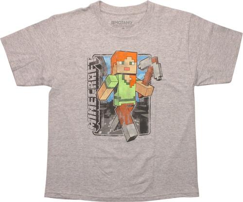 Minecraft Vintage Alex Youth T-Shirt