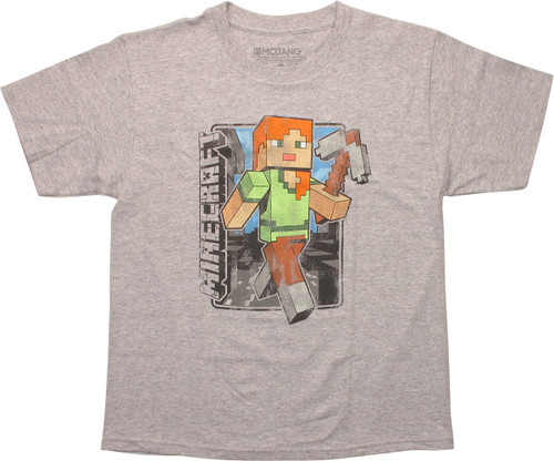 Minecraft Vintage Alex Youth T-Shirt