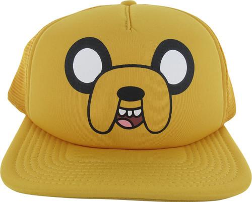 b84b7db4283 Adventure Time Jake Snapback Hat hat-adventure-time-jake-mesh-snap