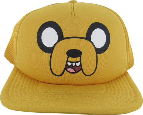 Adventure Time Jake Snapback Hat