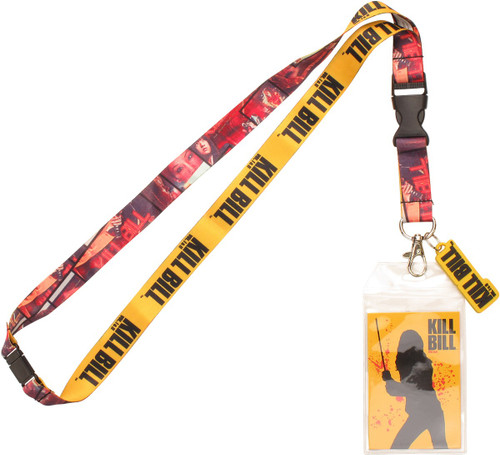 Kill Bill Scene Panels Charm Lanyard
