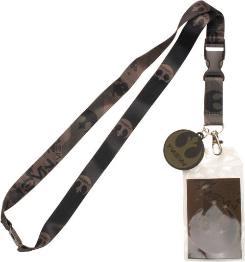 Star Wars Rebel Camo Charm Lanyard