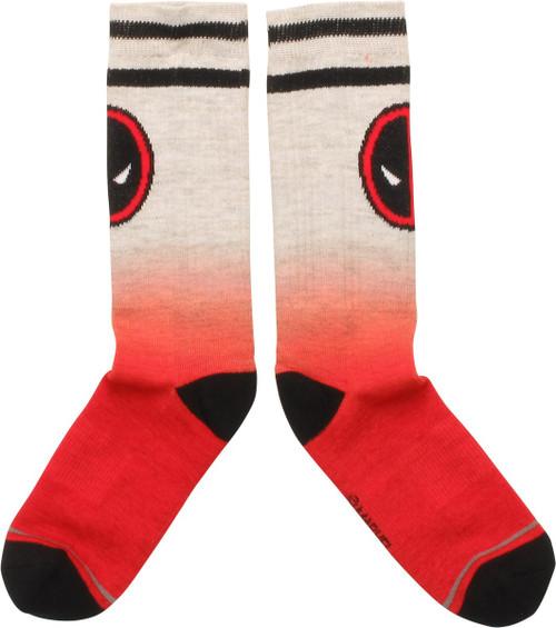 Deadpool Color Fade Crew Socks