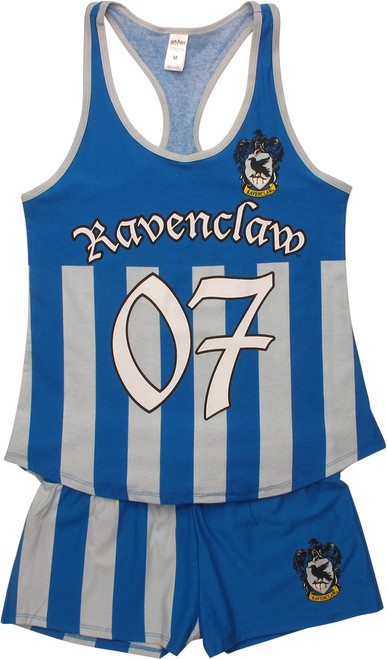 Harry Potter Ravenclaw Tank Shorts Pajama Set