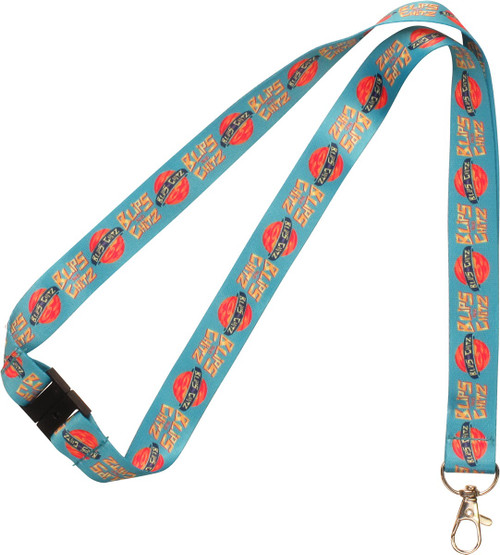 Rick and Morty Blips and Chitz Lanyard