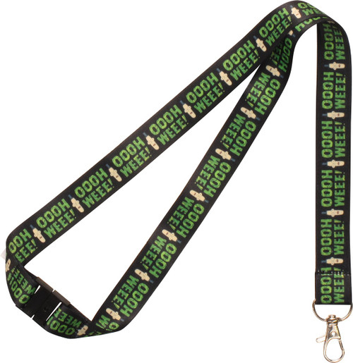 Rick and Morty Mr Poopy Butthole Ooh Wee Lanyard