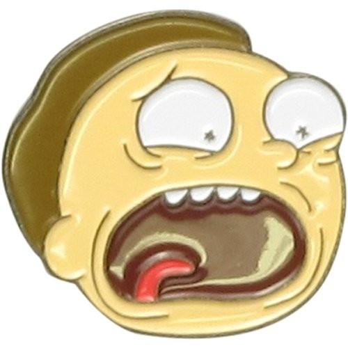 Rick and Morty Morty Scream Metal Pin