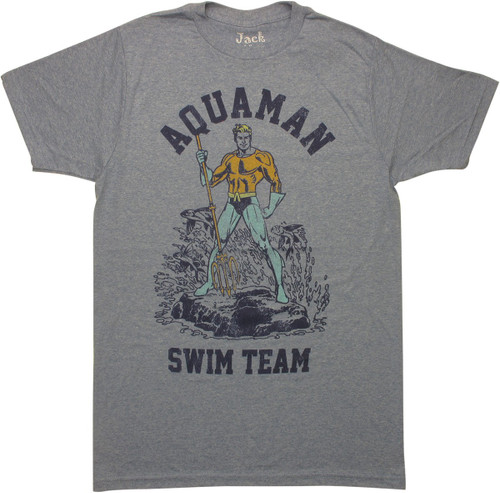 Aquaman Swim Team T-Shirt Sheer