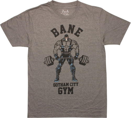 Bane Gotham City Gym T-Shirt