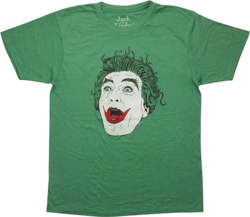 Joker TV Series Laughing T-Shirt Sheer