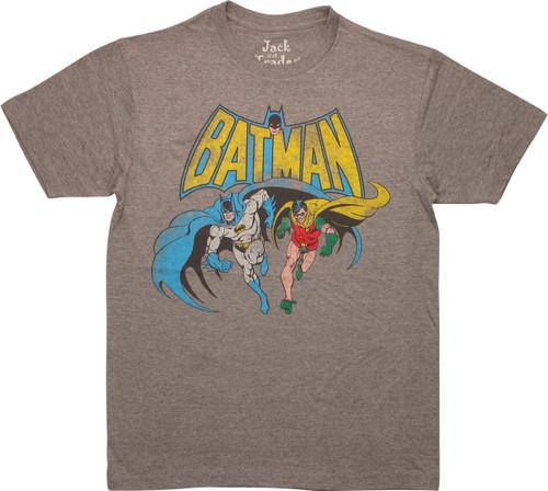 Batman Robin Vintage Pose T-Shirt