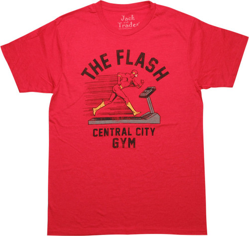 Flash Central City Gym T-Shirt Sheer