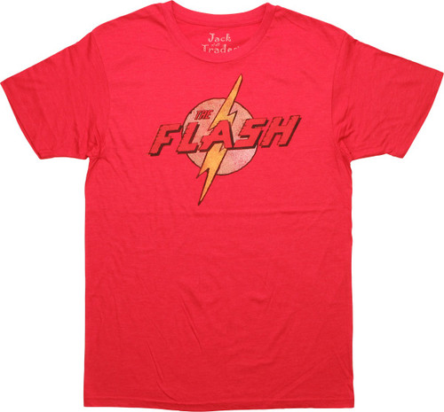 Flash Retro Logo T-Shirt Sheer