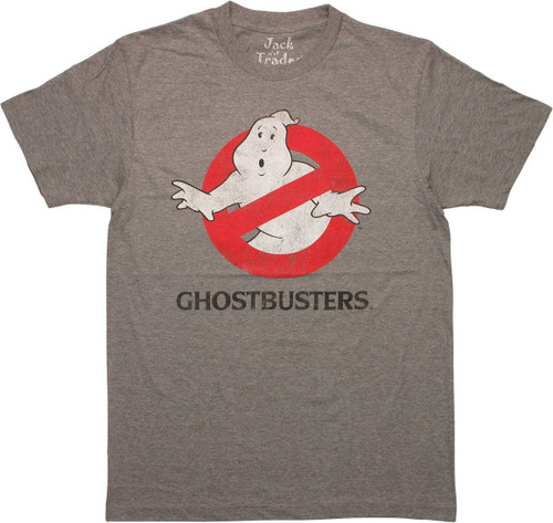 Ghostbusters Distressed Logo T-Shirt