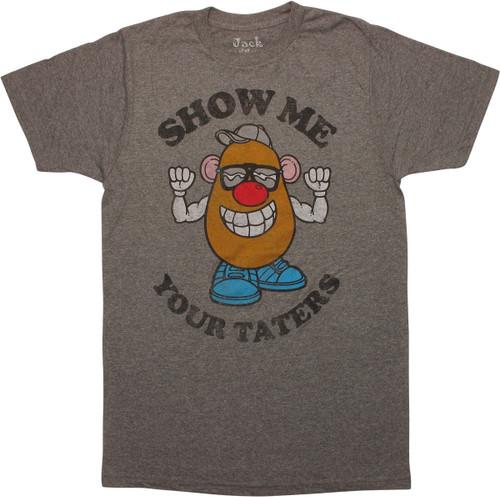 Mr Potato Head Show Me Your Taters T-Shirt Sheer